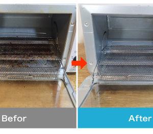 オーブントースターの掃除方法|びっくりするほど簡単に焦げや油汚れを落とすコツ